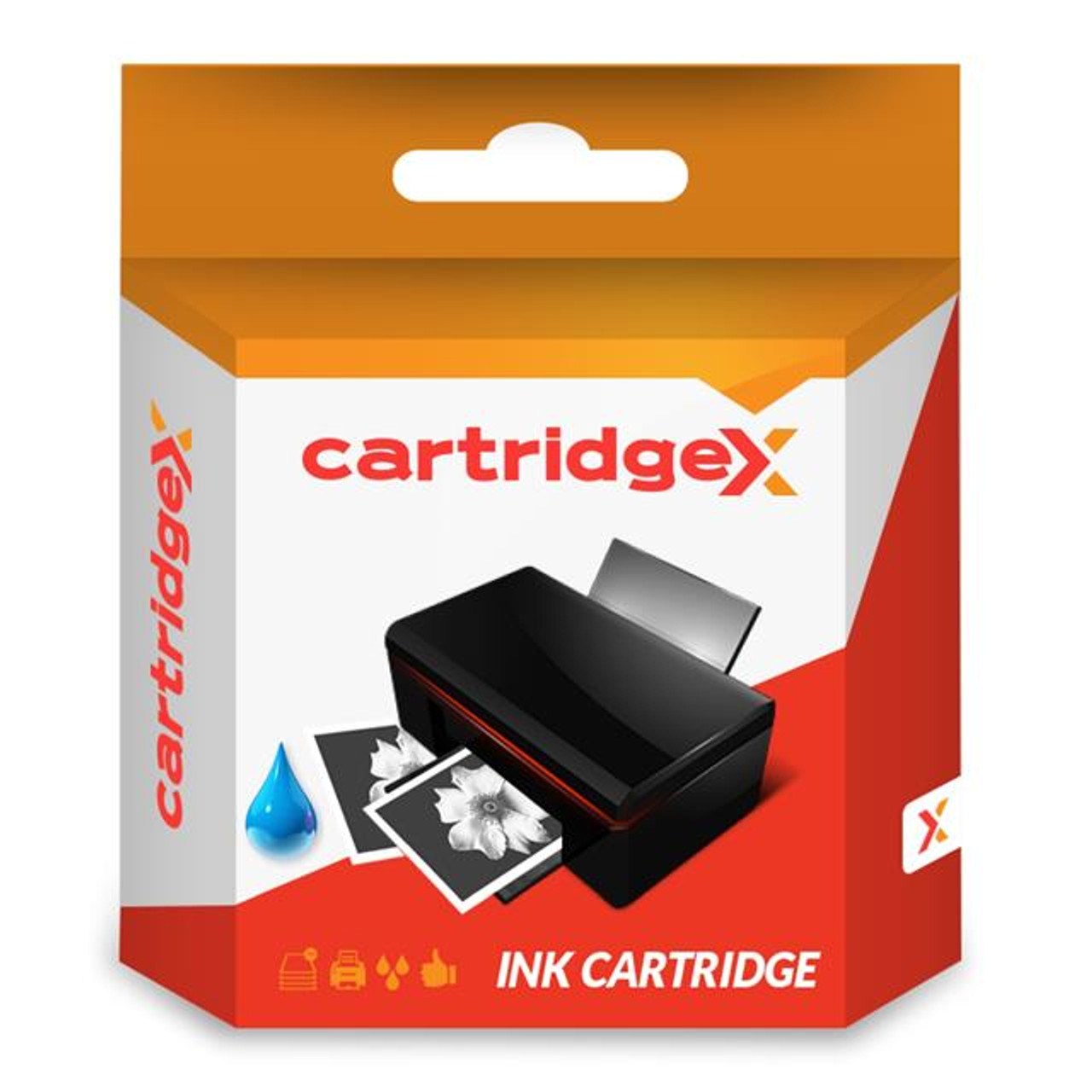 Compatible Cyan Ink Cartridge Compatible With Epson WorkForce WF-2750DWF WF-2750