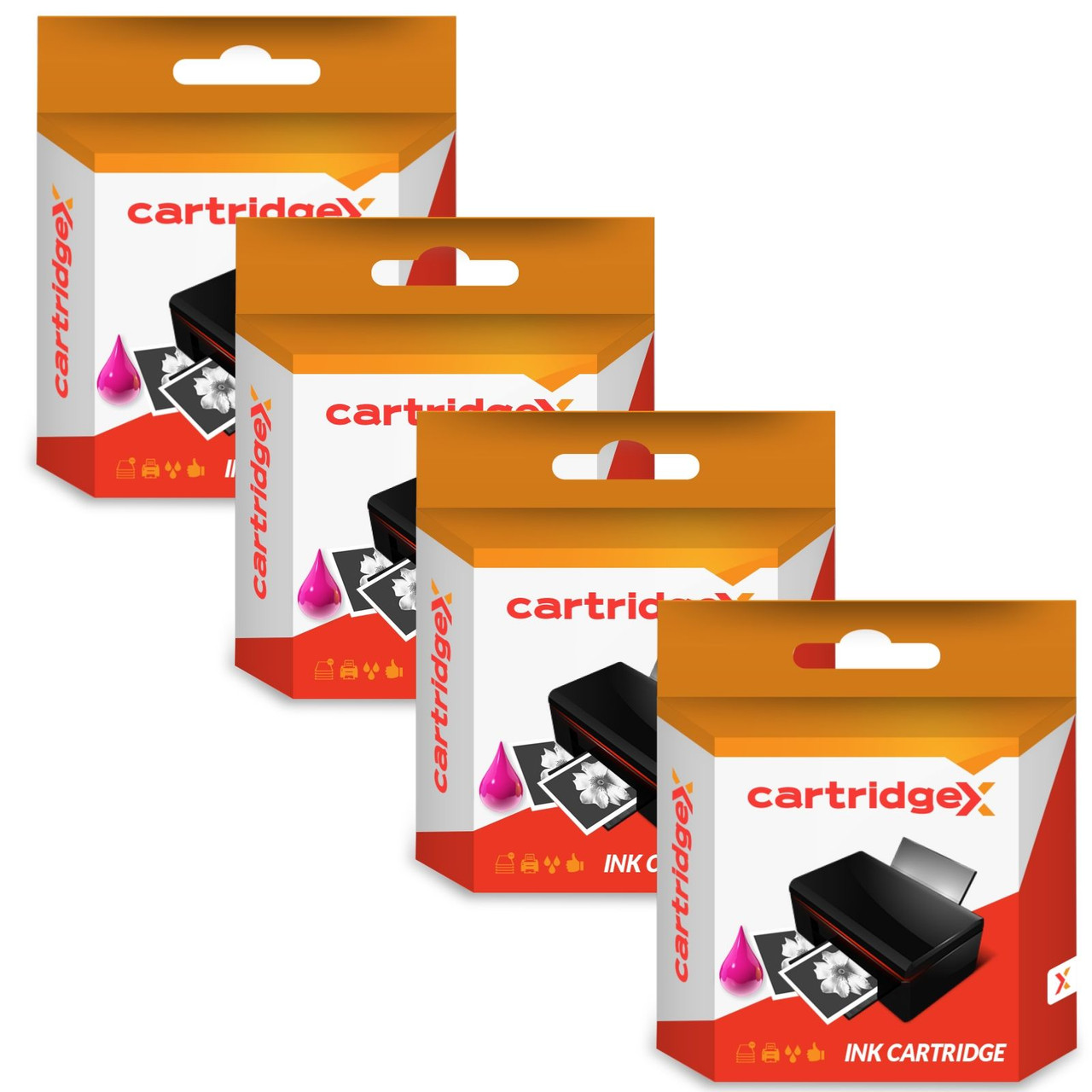 Compatible 4 Colour Brother Lc1240 Multipack Ink Cartridges Lc1240bk/m/c/y