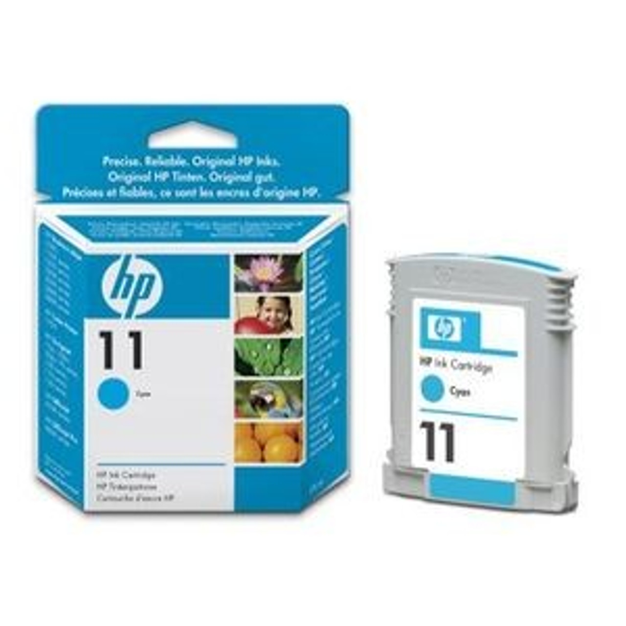Hp 11 Original Cyan Ink Cartridge (C4836ae)