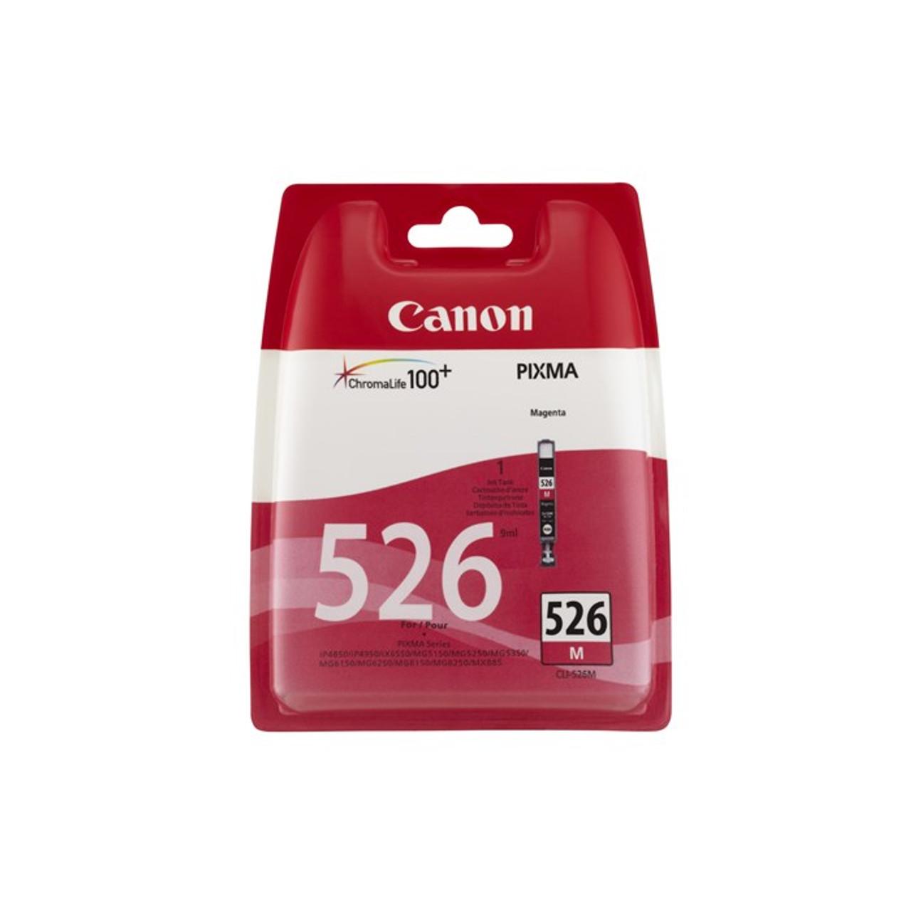 Canon Cli-526m Original Magenta Ink Cartridge  (4542b001)