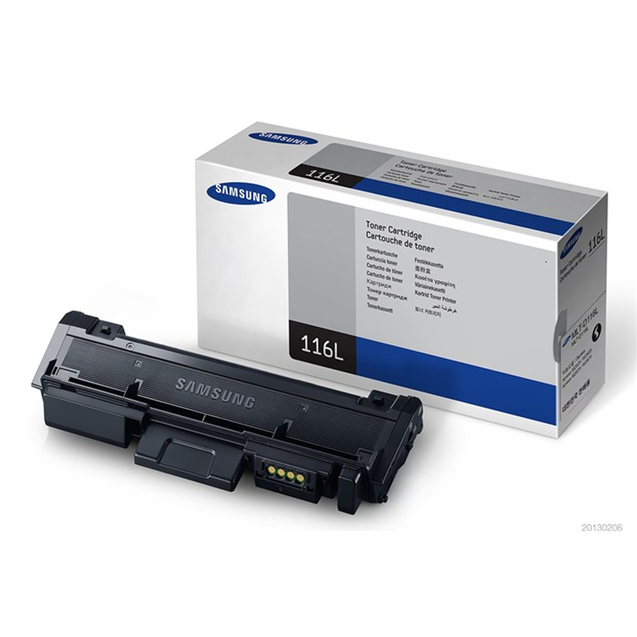 High Capacity Original Black Samsung Mlt-d116l Toner Cartridge (Mlt-d116l/els Laser Toner Cartridge)