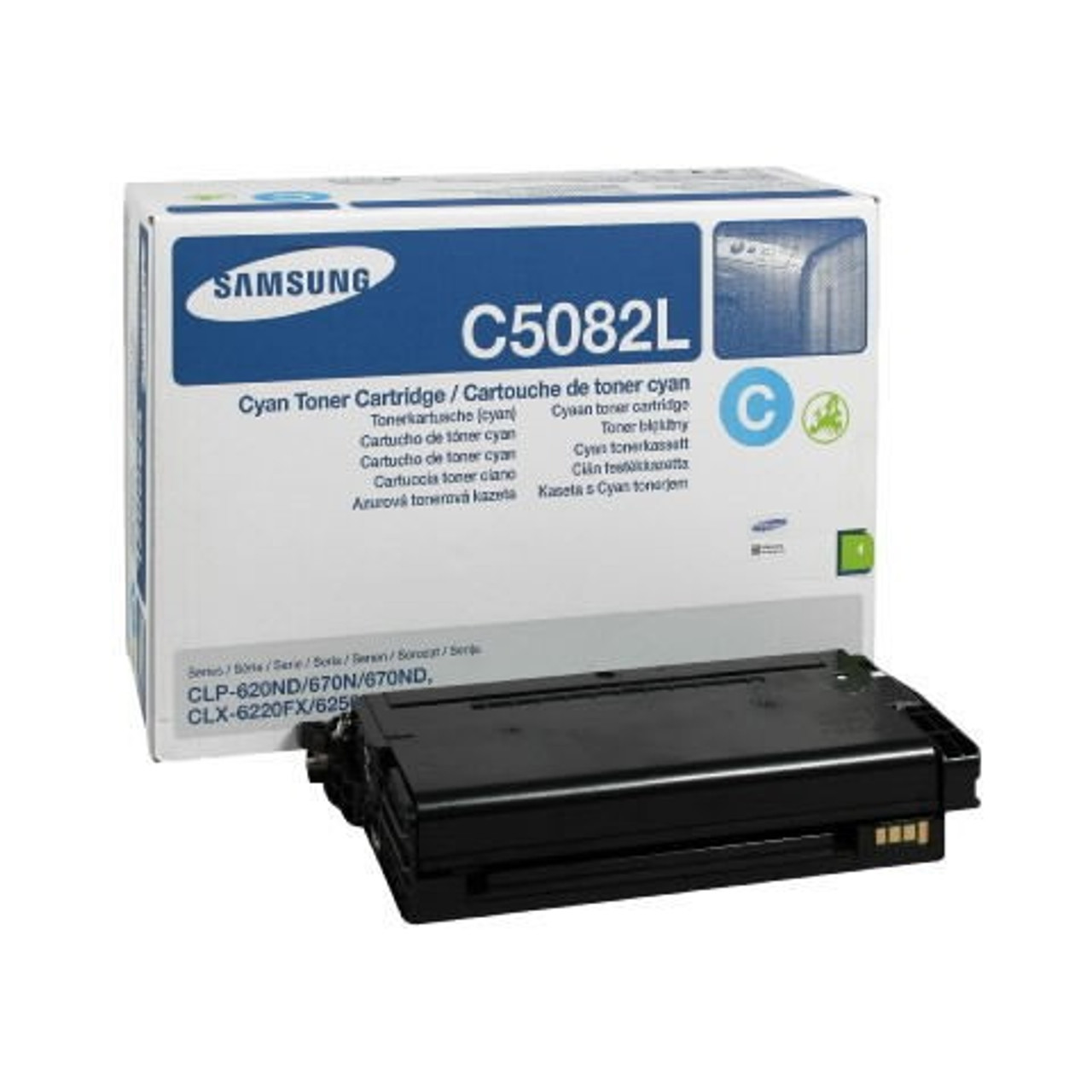 High Capacity Samsung Cltc5082l Original Cyan Toner Cartridge (Clt-c5082l Laser Printer Cartridge)