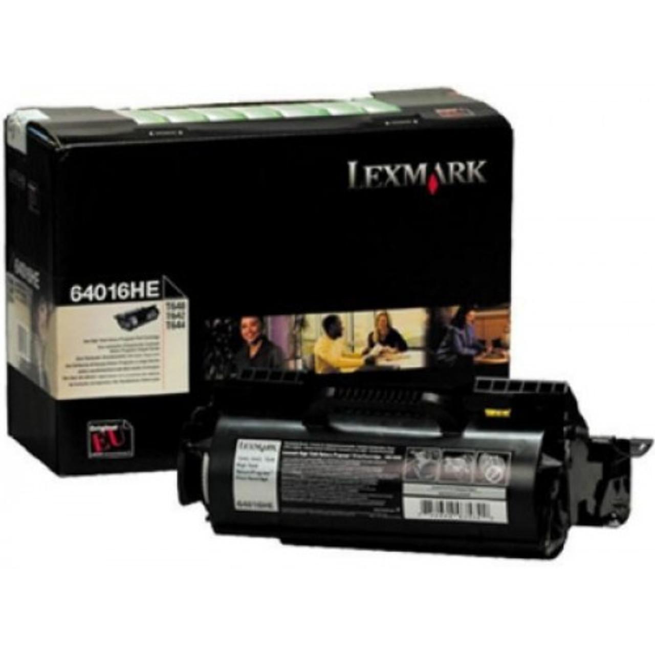 High Capacity Lexmark  64016he Original Black Toner Cartridge (0064016he Laser Printer Toner Cartridge)