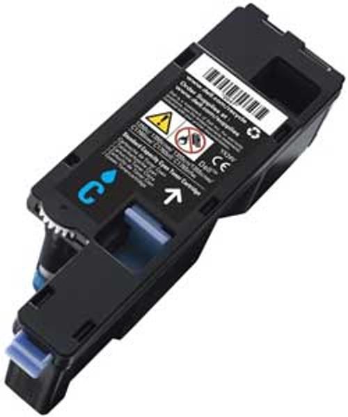 High Capacity Dell 59311021 Original Cyan Toner Cartridge (593-11021 Laser Printer Cartridge)