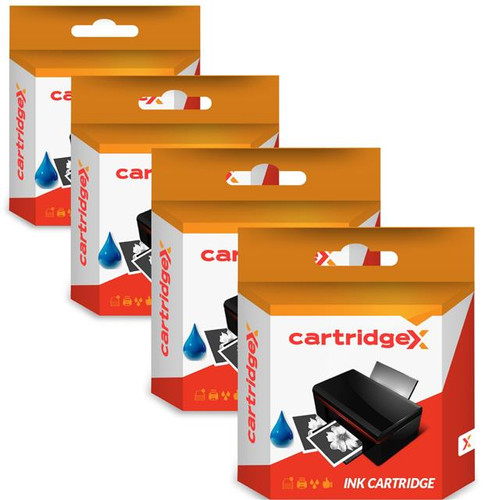 Compatible 4 X Blue Ink Cartridge For Pitney Bowes 765-9 3c00 4c00 5c00 6c00