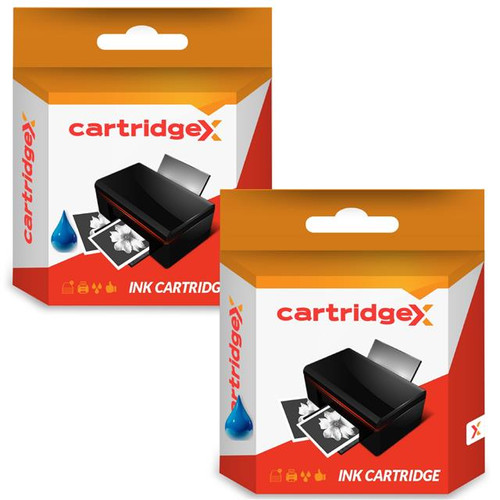 Compatible 2 X Blue Ink Cartridge For Pitney Bowes 765-9 3c00 4c00 5c00 6c00