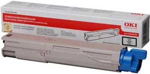High Capacity Oki 43459332 Original Black Toner Cartridge (43459332 Laser Printer Cartridge)