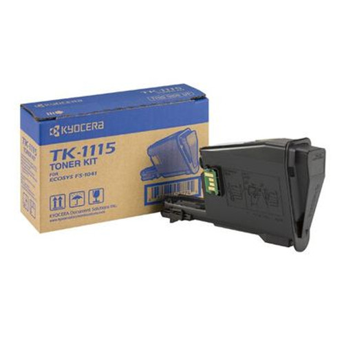Kyocera Tk-1115 Black Original Toner Cartridge (Tk1115 Laser Toner Cartridge)