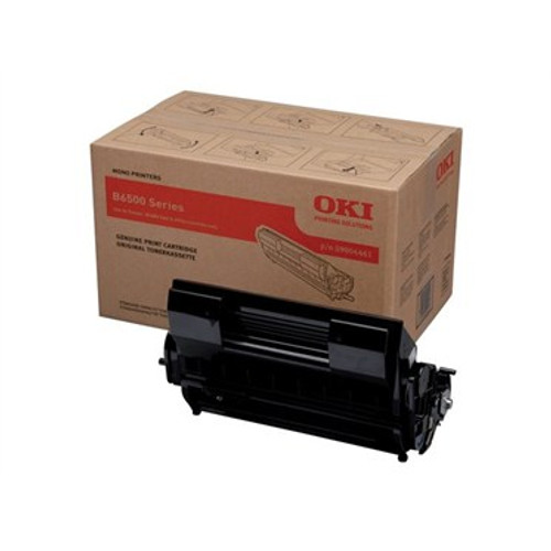 High Capacity Oki 09004461 Black  Original Toner Cartridge (9004461 Laser Toner Cartridge)