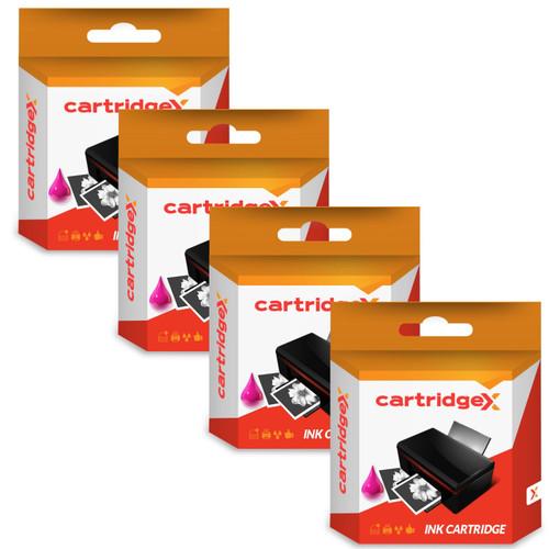 Compatible 4 Colour High Capacity Epson 16xl Black Ink Cartridge (1631 T1632 T1633 T1634 C13t16314010)