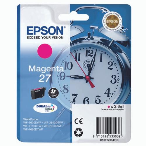 Epson 27 Magenta Original Ink Cartridge (T2703)