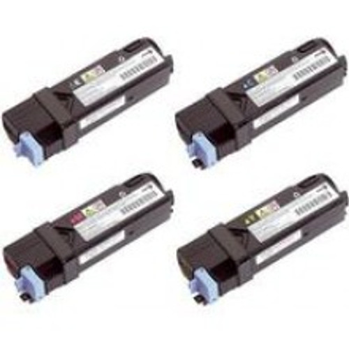 4 High Capacity Dell 593-1031original Toner Cartridge Multipack (Dell 593-10312/10313/10314/10315)