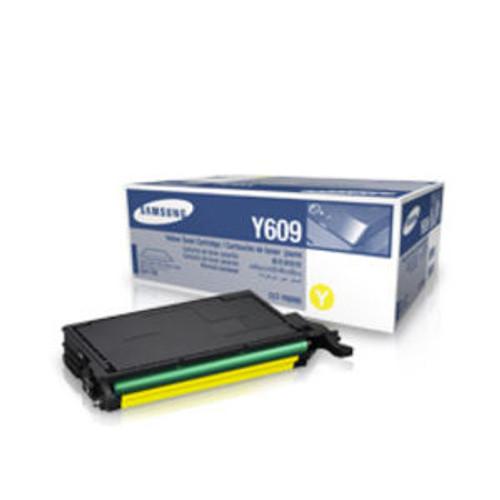 Samsung Y609 Yellow Original Toner Cartridge (Clt-y6092s)