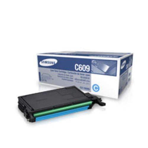 Samsung C609 Cyan Original Toner Cartridge (Clt-c6092s)
