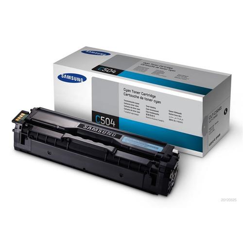 Samsung C504 Cyan Original Toner Cartridge (Clt-c504s/els)