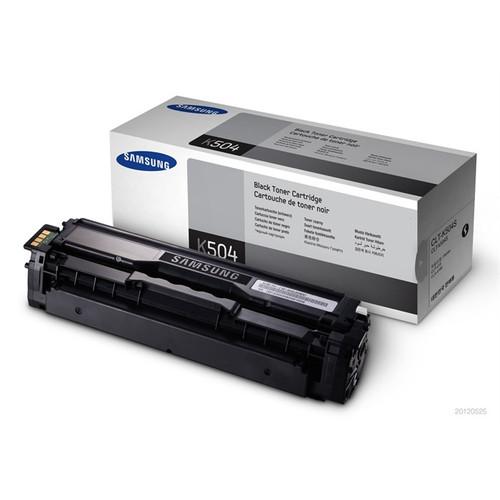 Samsung K504 Black Original Toner Cartridge (Clt-k504s/els)