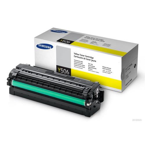 Samsung Y506 Yellow Original Toner Cartridge (Clt-y506l/els)