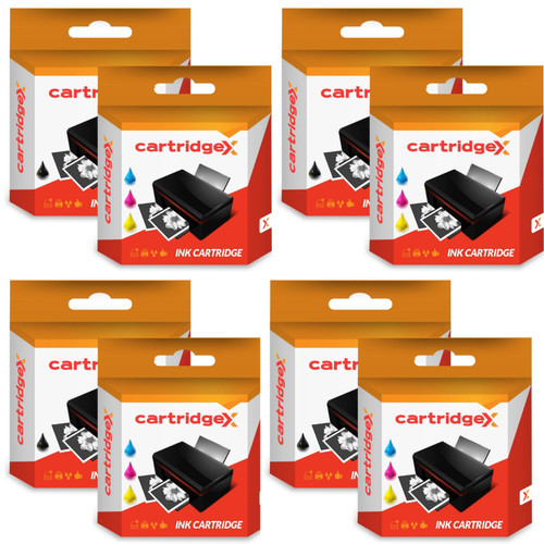 Compatible 10 Ink Cartridges Abk10 & Aclr10 Set For Advent A10 Aw10 Awp10