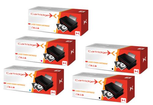 Compatible 5 Colour Hp 304a Cc530a Cc530a Cc531a Cc532a Cc533a Toner Cartridge Multipack