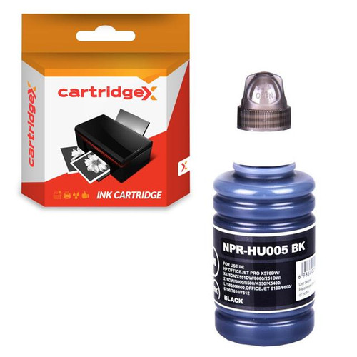 Compatible Black 100ml NON-OEM Pigment Ink For HP Officejet Pro 8716 8718 8720 8725 8728