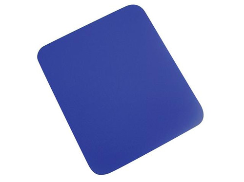 Q-Connect Economy Mouse Mat - Blue 29700 / KF04516 Computer Laptop Mouse Pad