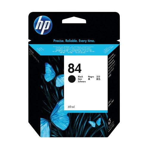 Genuine HP 84 Black Ink Cartridge C5016A  - High Capacity