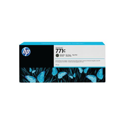 Genuine Matte Black HP 771C Ink Cartridge B6Y07A
