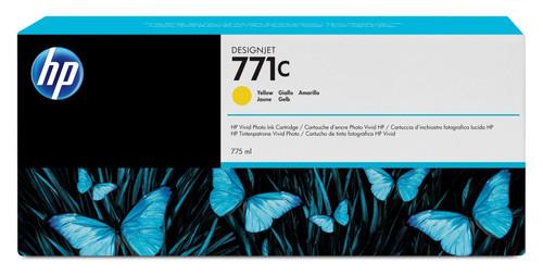 Genuine Yellow HP 771C Ink Cartridge B6Y10A
