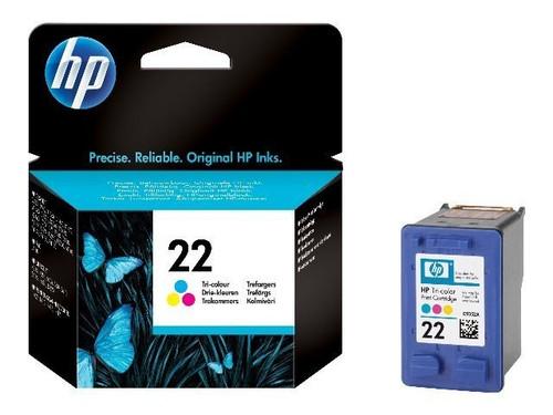 High Capacity Hp 22 Original Black Ink Cartridge (C9352ae)
