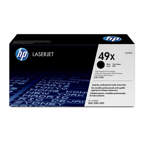 Hp 49x Original Black Toner Cartridge (Q5949x)