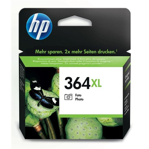 High Capacity Hp 364xl Original Black Ink Cartridge (Vivera CB322EE)