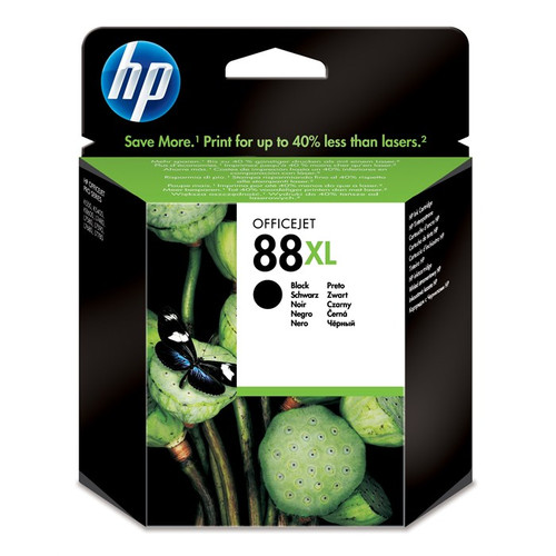 High Capacity Hp 88xl Original Black Ink Cartridge (C9396AE)