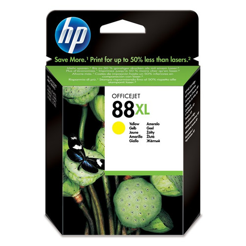 High Capacity Hp 88xl Original Yellow Ink Cartridge (C9393AE)