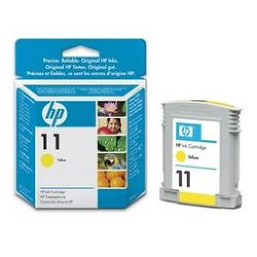 Hp 11 Original Yellow Ink Cartridge (C4838ae)