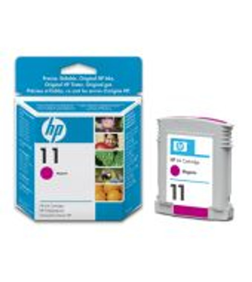 Hp 11 Original Magenta Ink Cartridge (C4837ae)