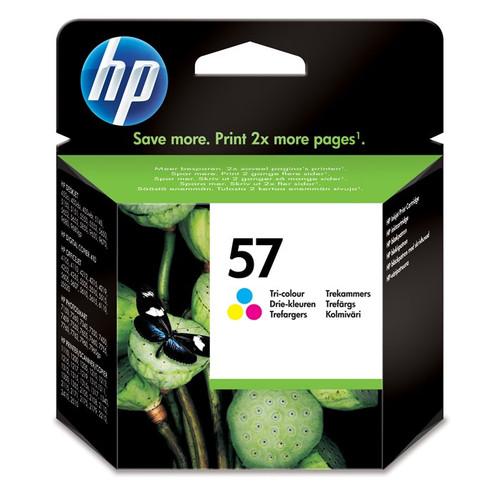 High Capacity Hp 57 Original Tri-colour Ink Cartridge (C6657a)