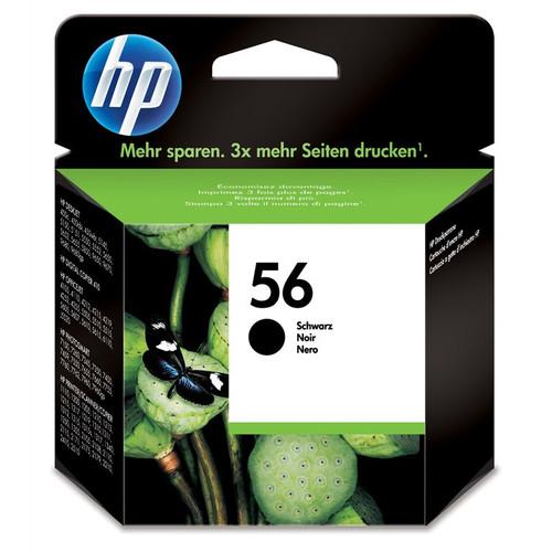 High Capacity Hp 56 Original Black Ink Cartridge (C6656ae)