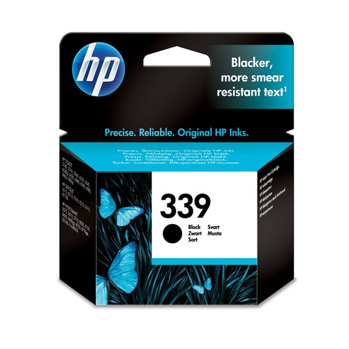 High Capacity Hp 339 Original Black Ink Cartridge (Vivera C8767ee)