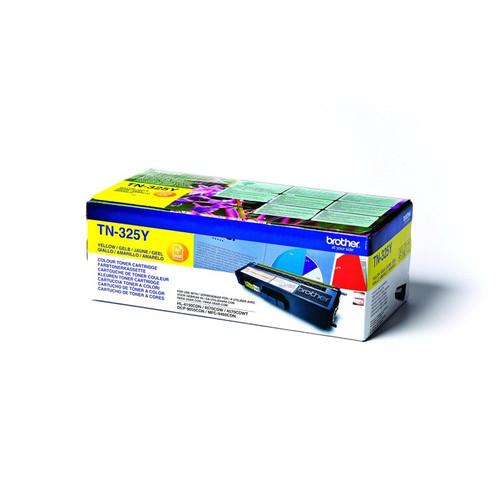 Brother Tn325y Original Yellow Toner Cartridge (Tn-325y Laser Printer Cartridge)