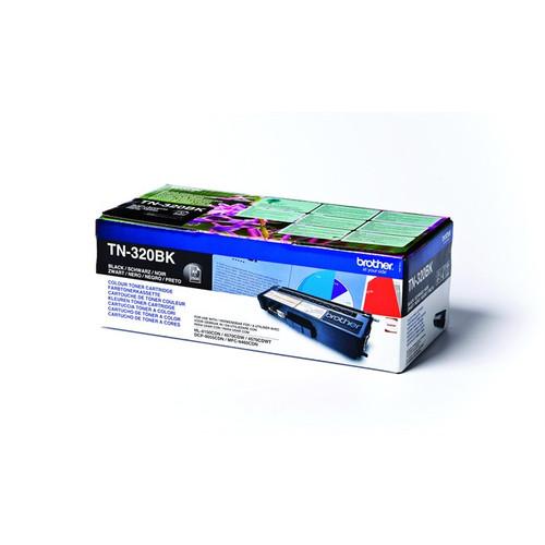 Brother Tn-320bk Original Black Toner Cartridge (Tn320bk Laser Printer Cartridge)