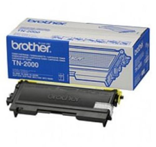 Brother Tn2000 Original Black Toner Cartridge (Tn-2000 Laser Printer Cartridge)