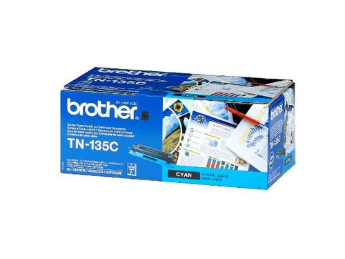 Brother Tn135c Original Cyan Toner Cartridge (Tn135c Laser Printer Cartridge)