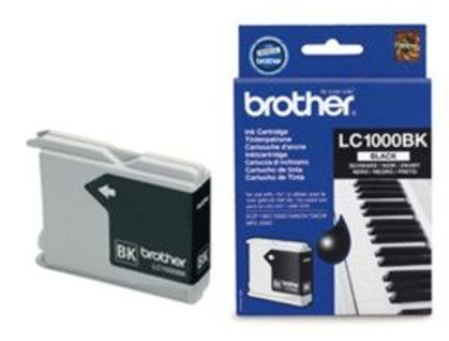 Brother Lc1000bk Original Black Ink Cartridge(Lc1000bk Inkjet Printer Cartridge)