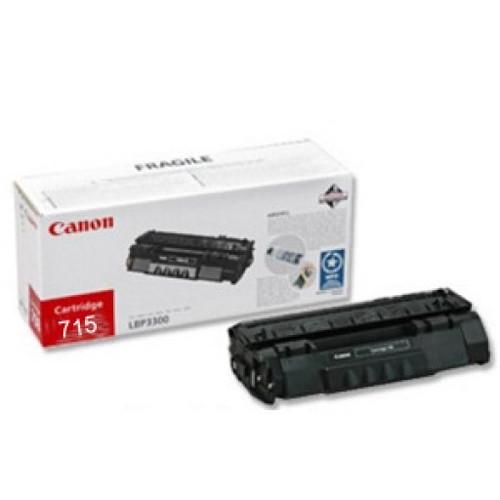 Canon 715 Original Black Toner Cartridge (1975b002aa)