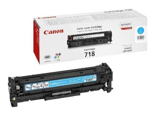 Canon 718 Original Cyan Toner Cartridge (2661b002aa)