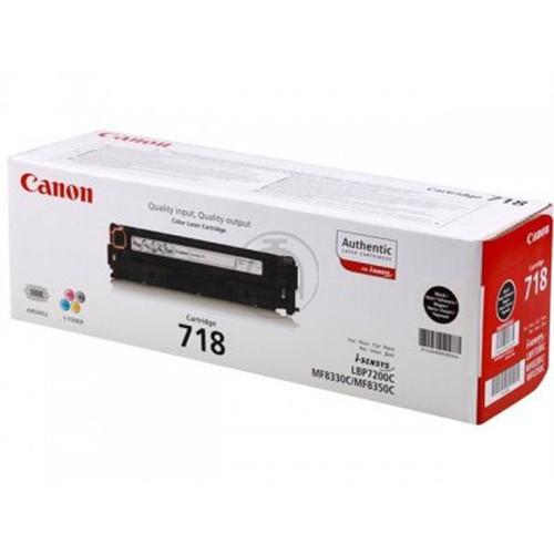 Canon 718 Original Black Toner Cartridge (2662b002aa)