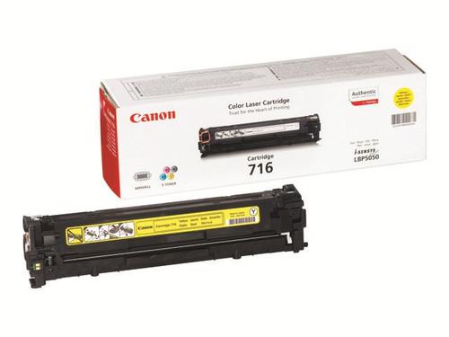 Canon 716 Original Yellow Toner Cartridge  (1977b002aa)