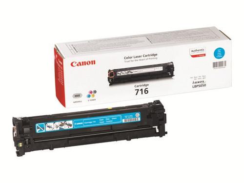 Canon 716 Original Cyan Toner Cartridge (1979b002aa)