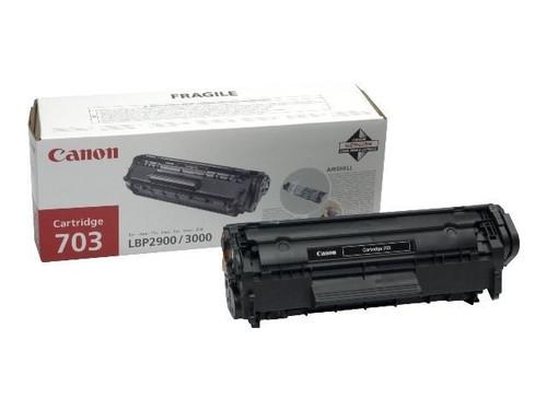 Canon 703 Original Black Toner Cartridge (7616A005)