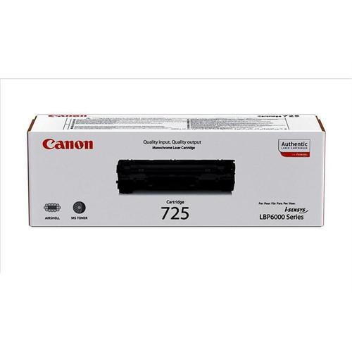 Canon 725 Original Black Toner Cartridge (3484B002)